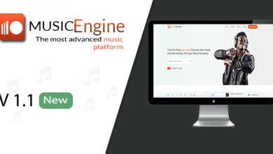 MusicEngine v1.1 - Sosyal Müzik Paylaşım Platformu İndir