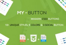 Mybutton - Modern CSS3 Butonları İndir
