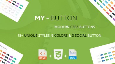 Photo of Mybutton – Modern CSS3 Butonları İndir