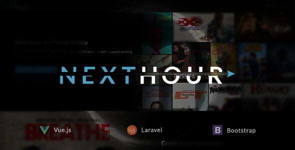 Next Hour v1.6 - Film TV Şov ve Video Abonelik Script İndir