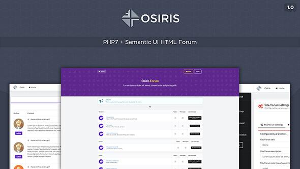 Osiris v1.0 - Forum Script İndir