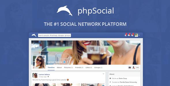 phpSocial v4.8.0 – Sosyal Ağ Platform Script İndir