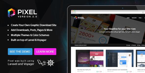 Pixel v2.0.5 - Premium İndirme Script İndir