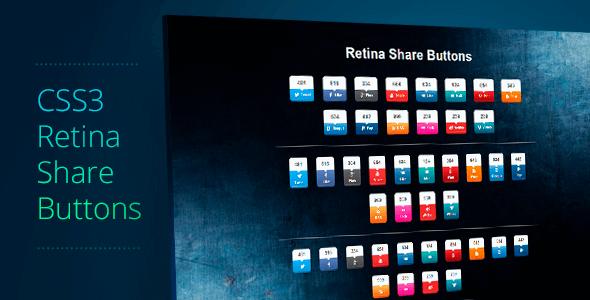 Retina Paylaş Düğmeleri v1.1 İndir