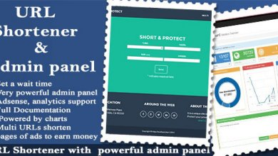Photo of URL Shortener v1.8.8 – Link Kısaltma Script İndir