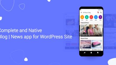 WordPress Sitesi için Blog ve Haberler Uygulaması İndir