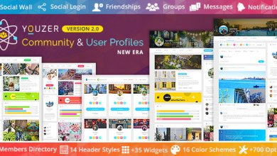Photo of WordPress Youzer v2.1.7 Eklentisi İndir