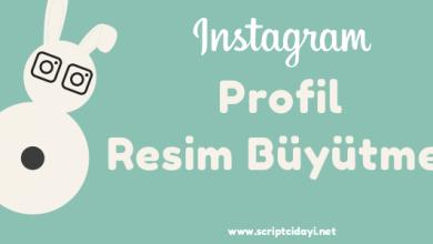 Photo of Instagram Profil Resim Büyütme Script İndir