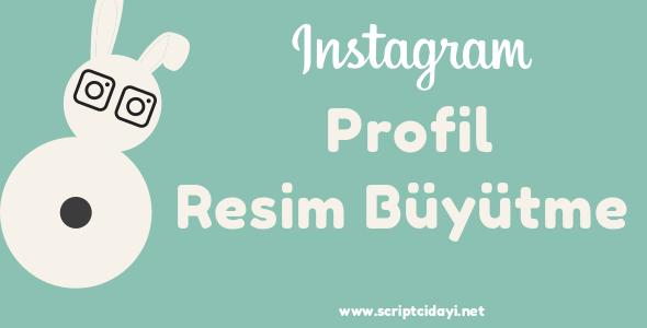 Instagram Profil Resim Büyütme Script İndir