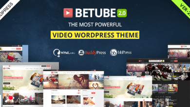 Betube v2.0.6 - WordPress Video Teması İndir