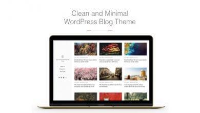 East v1.1.7 - Temiz ve Minimal WordPress Blog Teması İndir