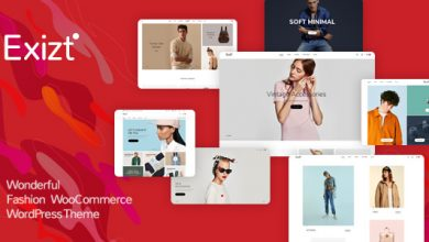 Exizt - WooCommerce Fashion WordPress Teması İndir