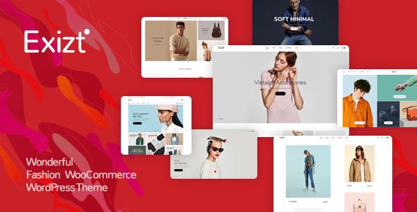 Exizt - WooCommerce Fashion WordPress Teması İndir