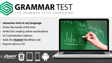 Photo of Grammar Test v1.15 – WordPress Test Eklentisi İndir