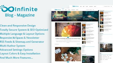 Photo of Infinite v3.7 – Blog & Magazin Script İndir