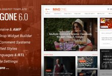 Photo of MagOne v6.1.2 – Responsive Haber & Magazin Blogger Teması İndir