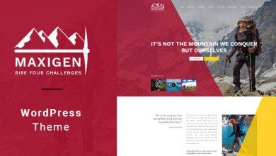 Photo of Maxigen v1.2.3 – Yürüyüş ve Dağcı WordPress Teması İndir