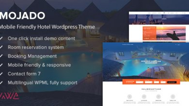 Photo of Mojado v3.0.0 – Mobil Dostu Otel WordPress Teması İndir