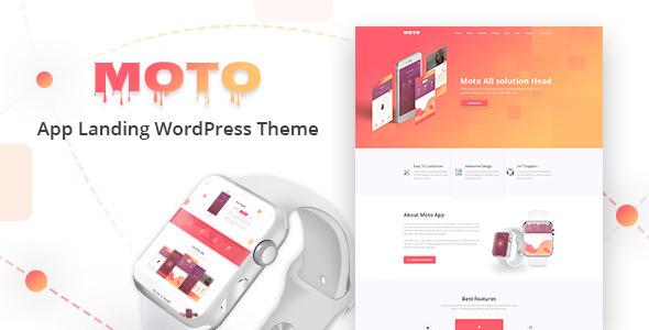 Moto - WordPress Tek Ürün Teması İndir
