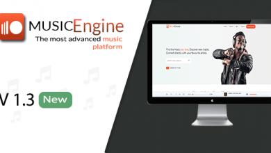 MusicEngine v1.3.1 - Sosyal Müzik Paylaşım Platformu İndir