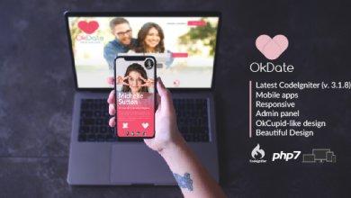 Photo of OkDate v3.2 – Tanışma Script ve Uygulaması İndir
