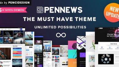 Photo of PenNews v6.2 – Haberler / Dergi / İş / Portföy Teması İndir