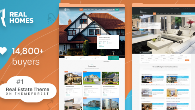 Photo of Real Homes v3.7.0 – WordPress Emlak Teması İndir