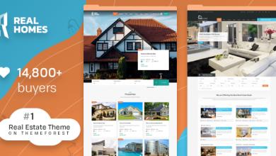 Real Homes v3.7.0 - WordPress Emlak Teması İndir