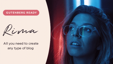 Photo of Rima v1.6.1 – WordPress Kişisel Blog Teması İndir