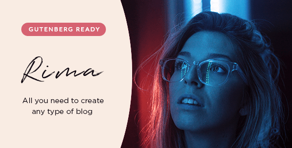 Rima v1.6.1 - WordPress Kişisel Blog Teması İndir