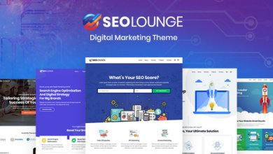 Photo of SEOLounge v1.0.3 – SEO Firma WordPress Teması İndir