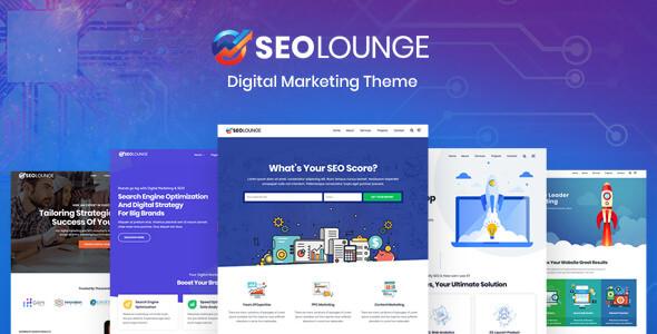 SEOLounge v1.0.3 - SEO Firma WordPress Teması İndir