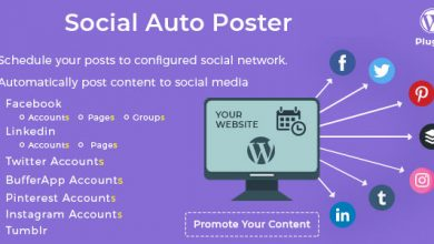 Photo of Social Auto Poster v2.8.7 – WordPress Eklentisi İndir