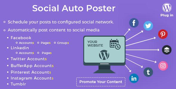 Social Auto Poster v2.8.7 - WordPress Eklentisi İndir