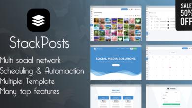 Stackposts v2.2 - Sosyal Pazarlama Aracı İndir