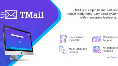 Photo of TMail v4.2 – Geçici E-posta Script İndir