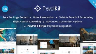 Photo of Travelkit v1.5 – Tur & Seyahat Teması İndir