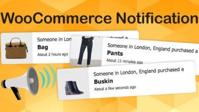 WooCommerce Notification v1.3.9.3 - Bildirim Eklentisi İndir