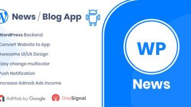 Photo of WP News v1.4 – WordPress Siteniz İçin Android Uygulaması İndir