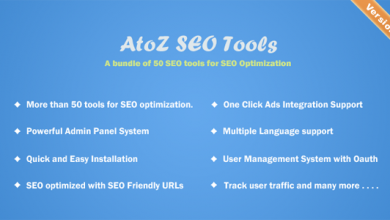 Photo of AtoZ SEO Tools v2.2 – Arama Motoru Optimizasyonu Araçları Script İndir