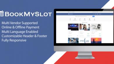 Photo of BookMySlot v1.1.0 – Çok Amaçlı PHP Rezervasyon Script İndir