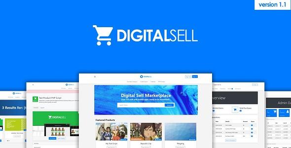 Digital Sell Marketplace v1.2 - Dijital Ürün Satış Script İndir
