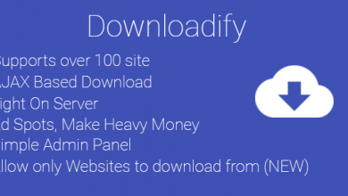 Photo of Downloadify v1.0 – Video İndirme Script İndir