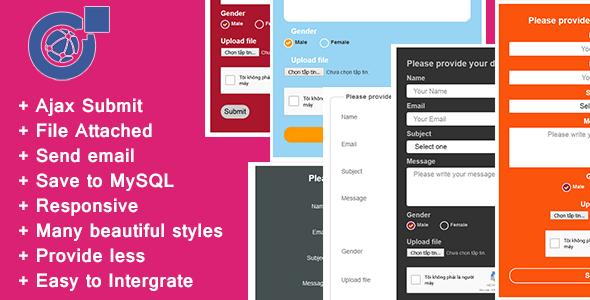 İletişim Formu - PHP, MySQL & Mail Gönderme Script İndir