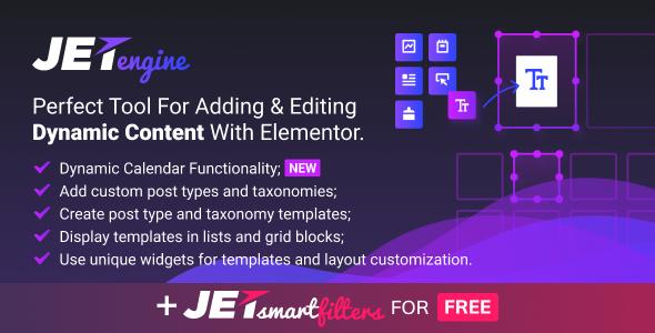 JetEngine v1.2.4 - Dinamik İçerik Ekleme ve Düzenleme Eklentisi İndir