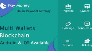 Photo of PayMoney v1.5 – Güvenli Çevrimiçi Ödeme Script İndir