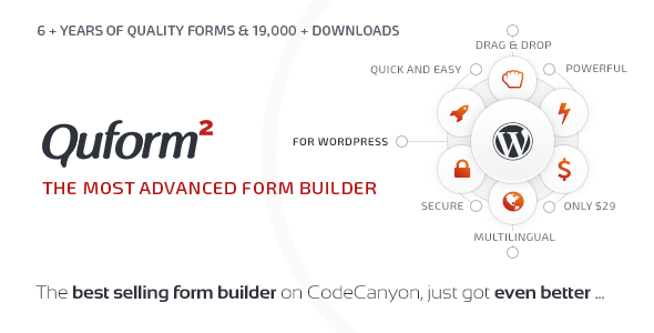 Quform v2.6.1 - WordPress Form Oluşturucu İndir