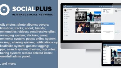Photo of Social Plus v1.1.7 – Ultimate PHP Sosyal Ağ Script İndir