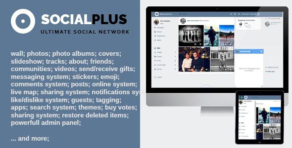 Social Plus v1.1.7 - Ultimate PHP Sosyal Ağ Script İndir