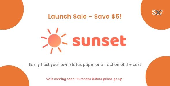 Sunset - Durum Sayfası Script İndir